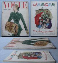 Vogue Magazine - 1948 - December